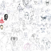 Sketch Dump 3 by ImStarving