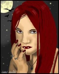 Digital Vampire by JadedJennifer