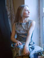 near the window by mariakovalchuk