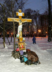 EuroMaidan rallies in Ukraine, Kiev, 10th december by mariakovalchuk