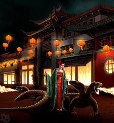 The Dragon Diva by SolarShine