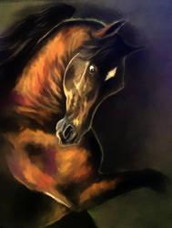 Arabian pastel by Elsouille