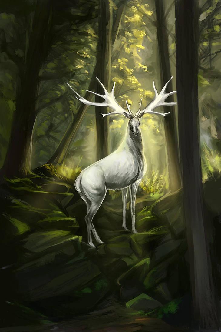 Deer2 by Elsouille