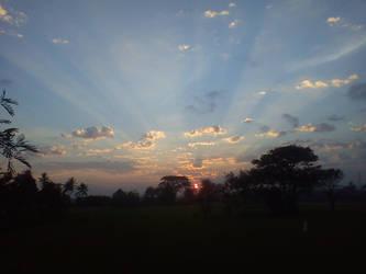 Sun Rise by jazbas