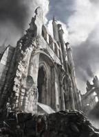 Castle Ruins by JonasDeRo