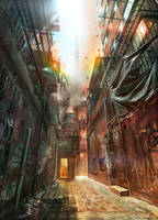 Alleyway by JonasDeRo