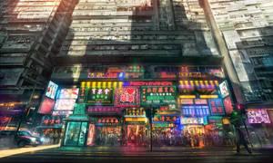 Neon Manga by JonasDeRo