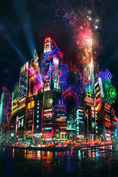 Neo-Shinjuku by JonasDeRo