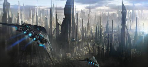 Cities Of The Future by JonasDeRo