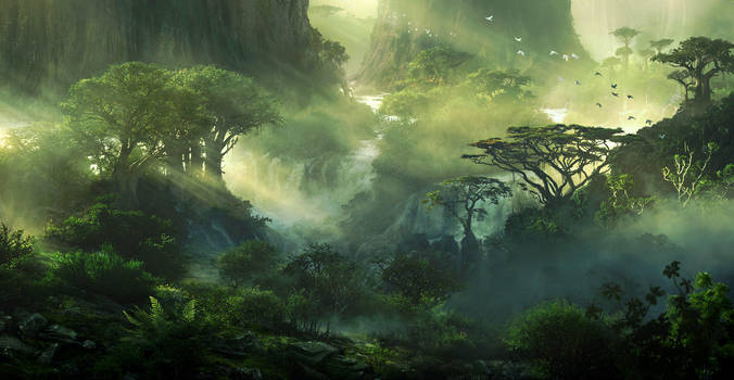 Woodlands by JonasDeRo