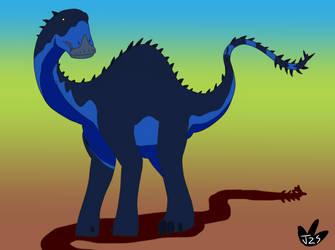 Dinovember Day 6 by DinoBirdMan