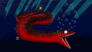Unagi the moray eel by EmbraceDarkshade