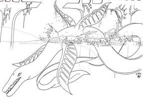 Leviathan Serpent by EmbraceDarkshade