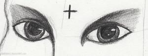 Monochrome eyes by EmbraceDarkshade