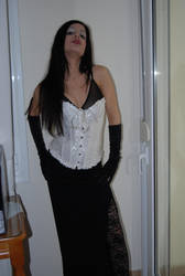 Goth Girl 1 by ftourini-stock