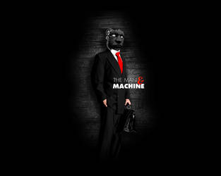 The man and machine by mgoys