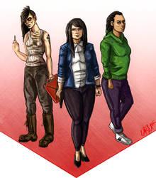 Grand Theft Auto V Gender Swap by Dragonstomper48