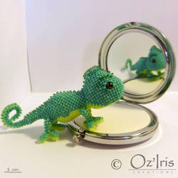 Maurice, the chameleon by Oz-Iris