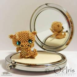 Gloria, the golden dragon by Oz-Iris