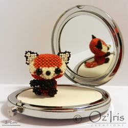 Derek the red panda by Oz-Iris