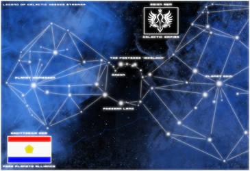 Legend of Galactic Heroes Map by zsoca-san