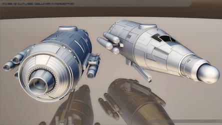 FB-25/B Cutlass Cislunar Interceptor by zsoca-san