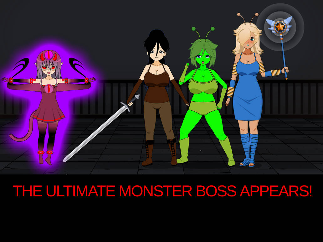 THE BOSS MONSTER by theunholyborn