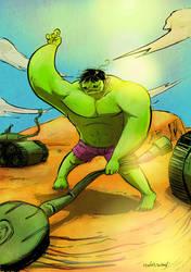 Hulk by Dantorio