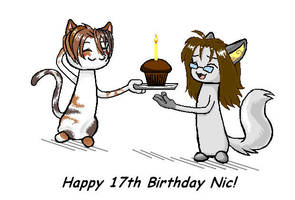 Happy Birthday Nic by kissableangel