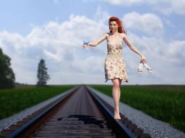 Balancing on the rail by pnn32