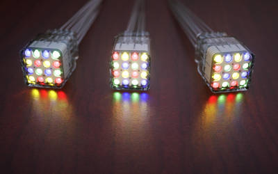 Multicolor nixie tubes by pnn32
