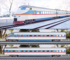 Model of high speed electric multiple unit train by pnn32