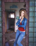 Standing in rusty doorway by pnn32