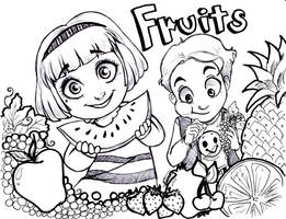 Fruits by oasiswinds