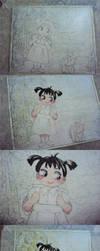 Wip watercolor by SatoHikaru