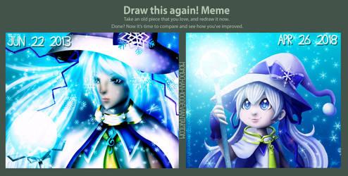 Draw This Again - Snow Miku 2014 by MomoChan-100