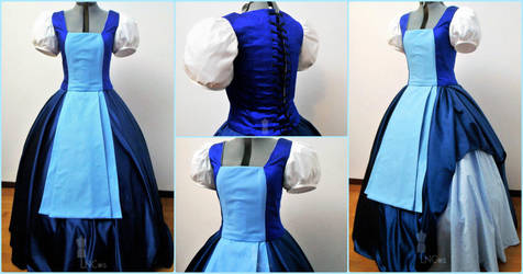 Sapphire Gown - Steven Universe by LauraNiko