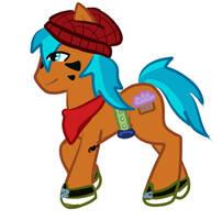 Flynn Pony OC Request by The-Cutie-Kitsune