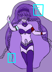 Lavender Pearl Final design Pt II by The-Cutie-Kitsune