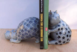 Fesken and Dornou by Hippopottermiss