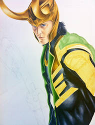Avengers: Loki - In Progress by smlshin