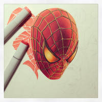 Maguire Spider-Man WIP by smlshin