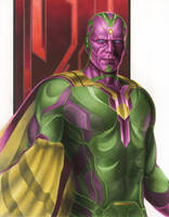 Age of Ultron: Vision by smlshin