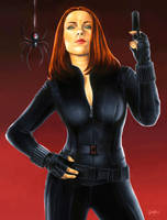 The Winter Soldier: Black Widow by smlshin