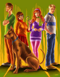 Mystery Incorporated by smlshin