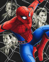 Spider-Man Homecoming by smlshin