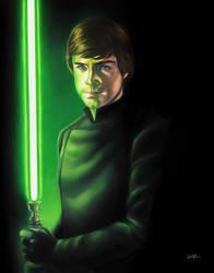 Return of the Jedi: Luke Skywalker by smlshin