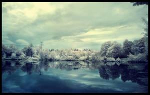 winter lake by fluentwater
