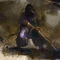 Samurai 004 by Pierrick