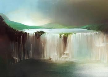 Waterfalls by Pierrick